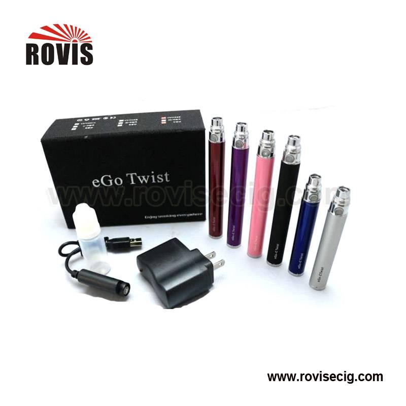 The Best selling E-cigarette EGO Twist starter kit