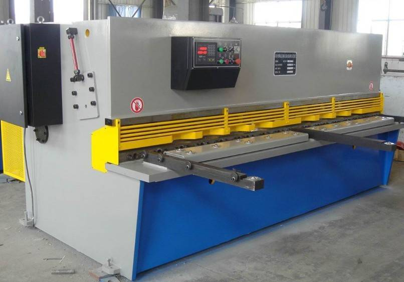 QC12Y-6x5000 Hydraulic Sheet Shearing Machine