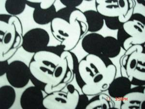 cotton flannel printed fabric stock