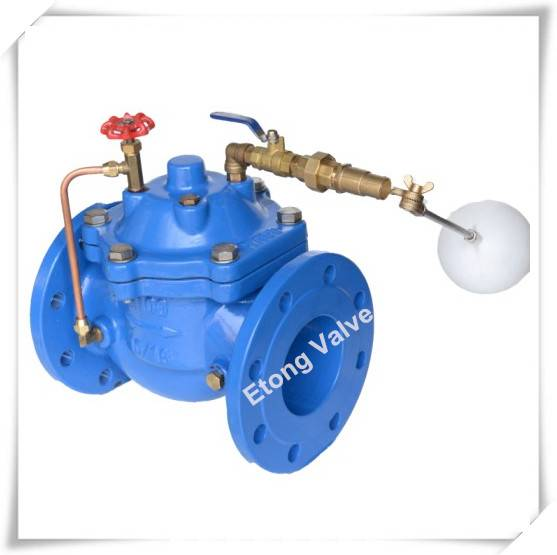 Ductile Iron Float Controlled Valve For Water Supply