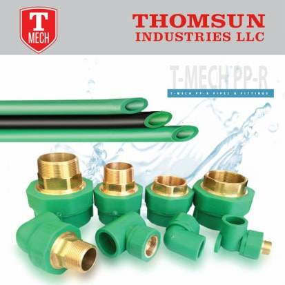 Dubai ppr pipes fittings manufacturers pprc pipes suppliers
