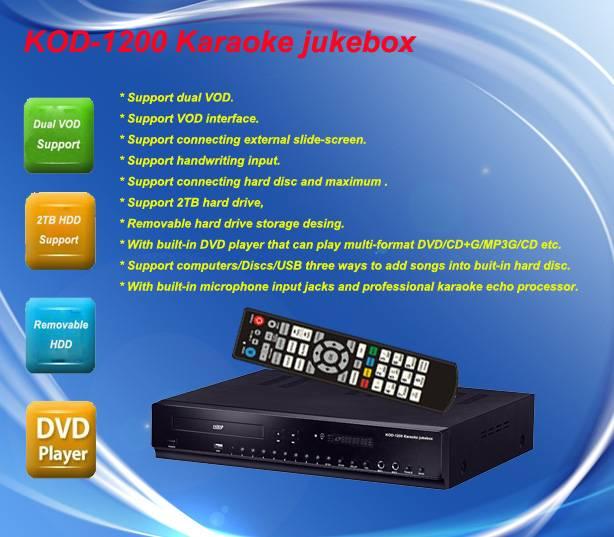 Selling HDD Karaoke jukebox