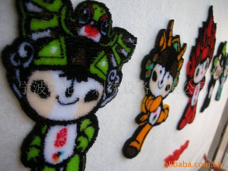 Tuft embroidery machine (multi-head)