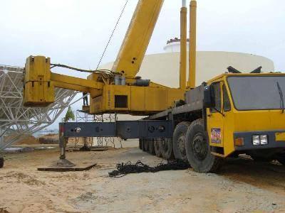 liebherr LTM1250 250ton  used rough terrain crane for sale