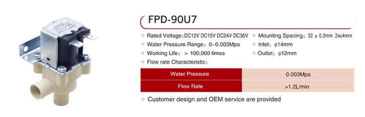FPD-90U7 water heater solenoid valve