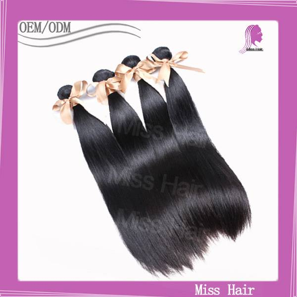 Silky Straight Human Hair Weaving