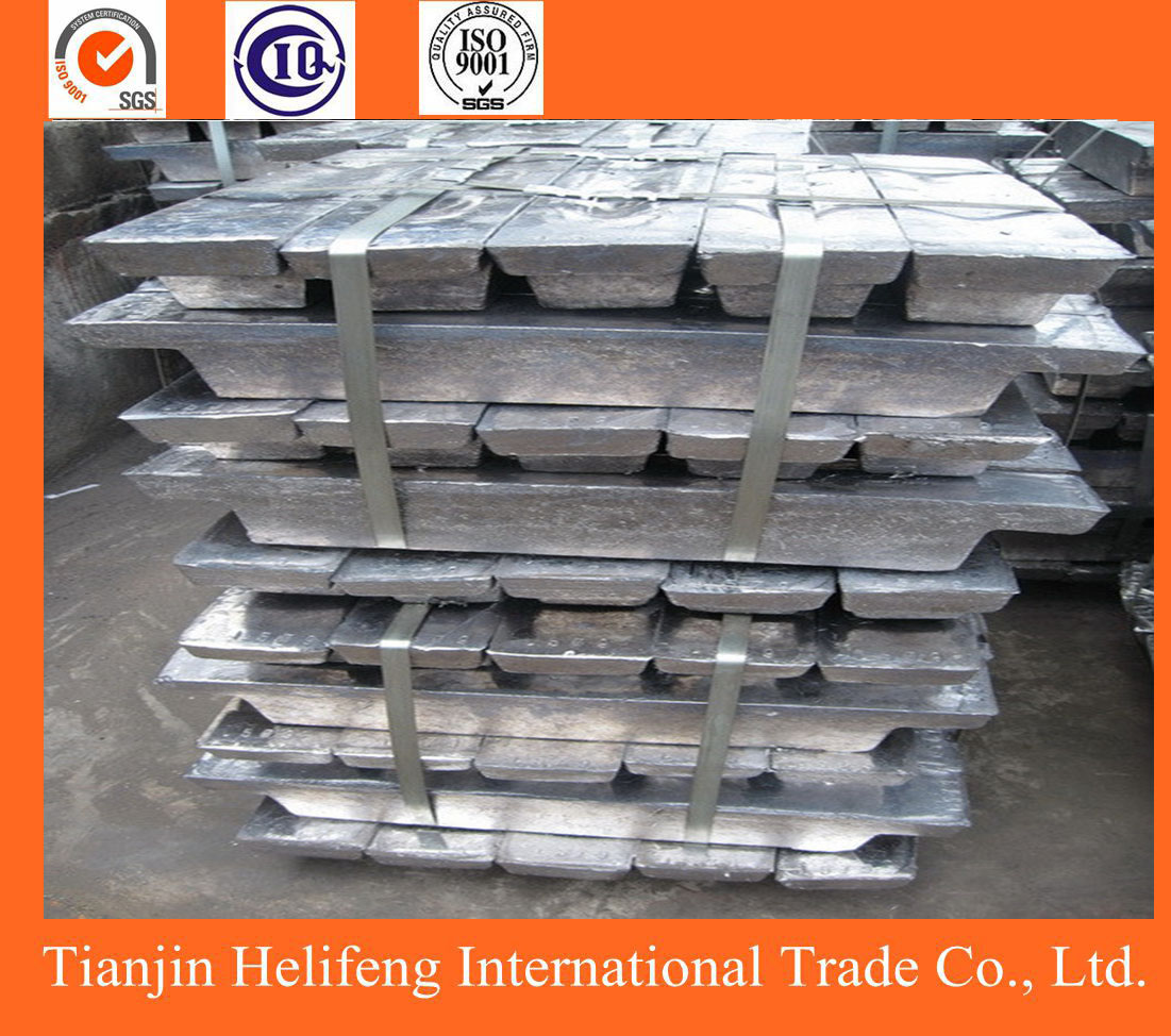High purity metal material lead ingots for sale