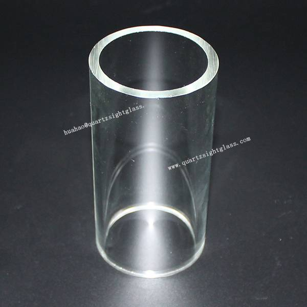 Polish Wall Thickness Fused Silica Glass Tube