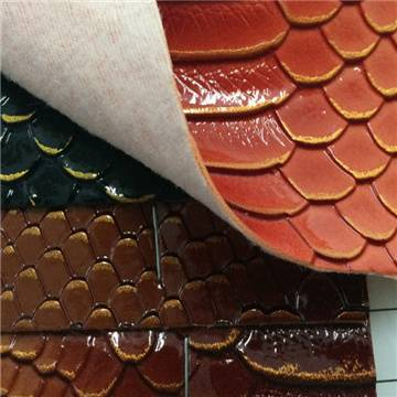 Multiple colors Available REACH High Quality Snake Skin PU leather