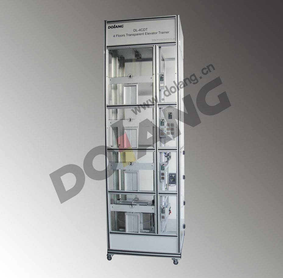didactic educational equipment training device teaching Group Control Elevator Trainer DLLY-6CDT