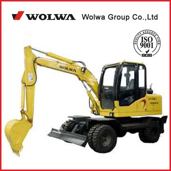 sell 6 ton wheel excavator