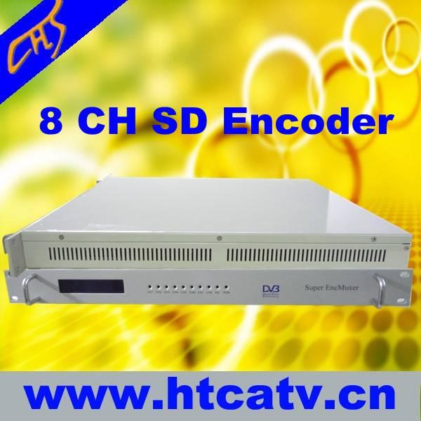 MPEG2&MPEG4 8 in 1 encoder