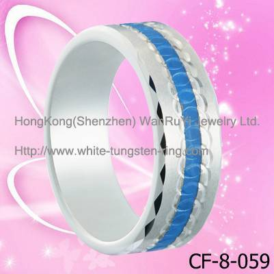 Special New Tungsten Ring Hot Sales Hip Hop Men's Rings