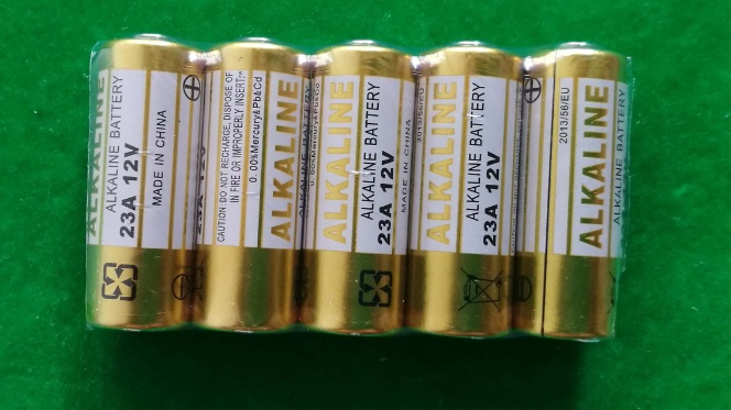 12V 23A Alkaline battery A23 MS21/MN21 V23GA LR23 L1028 batteries