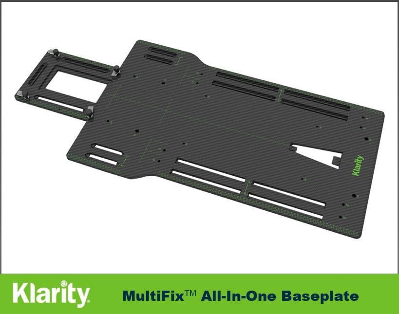 Klarity All-in-One Baseplate Carbon Fiber Baseplate