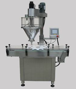auto can auger filling machine