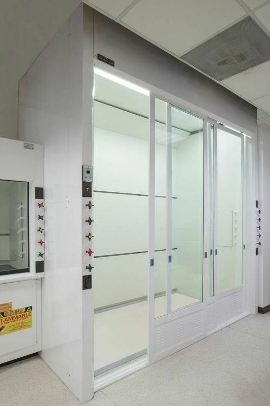 Industrial Fume Hood/ PP board Laboratory Walk in Fume Hoods in Good Price
