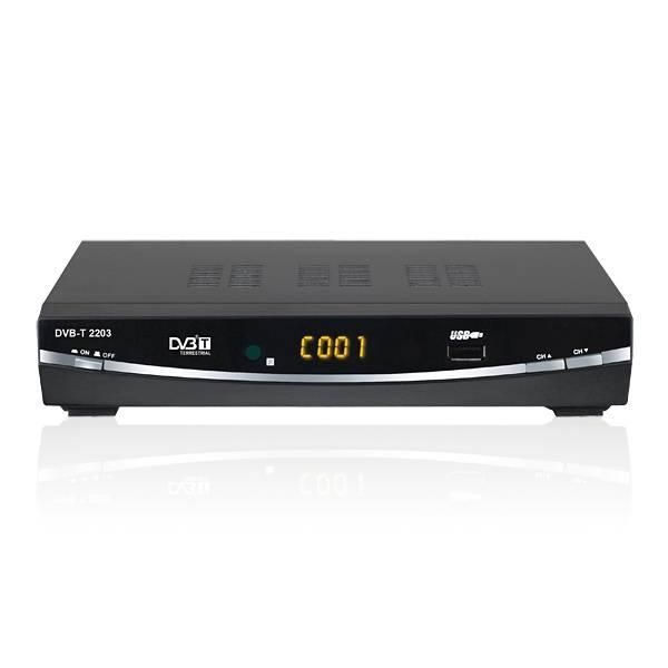 DVB-T Tuner 1080P Digital Kabel Satellite Receivers HR-T4305