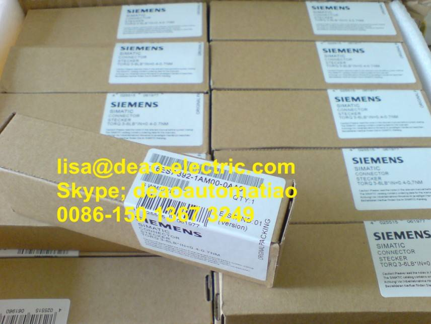 SIEMENS 20 pin linker S7-300 Installation guide 6ES7392-1AM00-0AA0