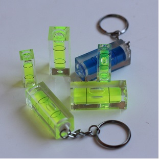 Block square bubble level vials