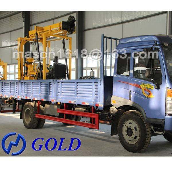 Reliable Truck Mounted XYC-3 Oil Well Drilling Rig