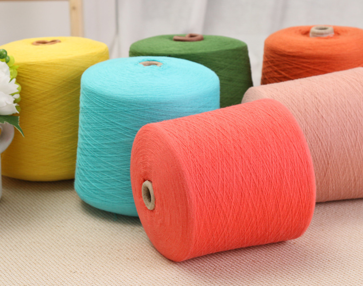 wholesale 100% cotton yarn