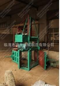 YK1-10 Rice husk hydraulic baling press machine     straw feed compression pressure piece of baling