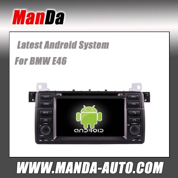 android 4.4 car stereo for BMW E46 M3 X3/ Z3/ Z4 wifi 3g car multimedia audio player gps navigation