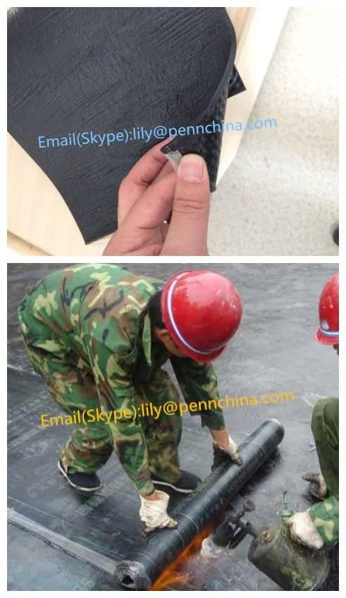 4mm APP/SBS Waterproof Bitumen Membrane With PE Film For Building Roofing