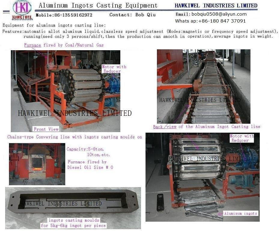 Aluminum Ingot Casting equipment