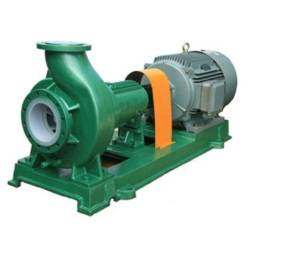 IHF PTFE Fluoroplastic chemical centrifugal pump