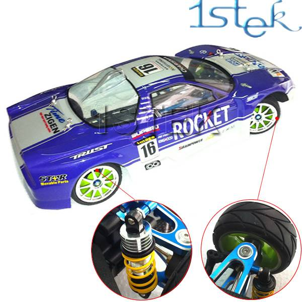 1/10 4WD Shaft Drive RC Car Kit drift