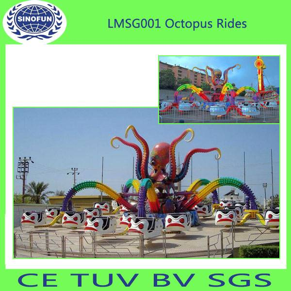 [Sinofun Rides] amusement park rides double deck luxurious merry go round carousel