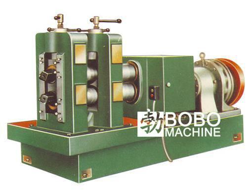 Stainless steel flatware rolling machine