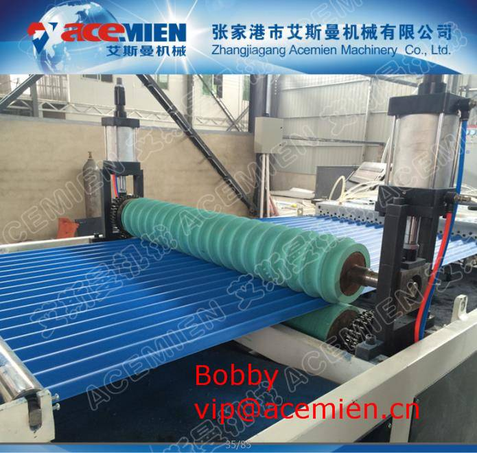 Automatic Corrugated Tile Forming Machine for Building Roof 1mm ~ 3mm