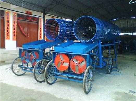 High Efficiency Cassava Peeling and Chipping Machine