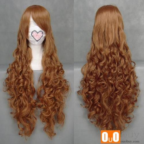 Selling Axis Powers Hetalia Elizaveta Héderváry Dark Brown Curly Cosplay Wig