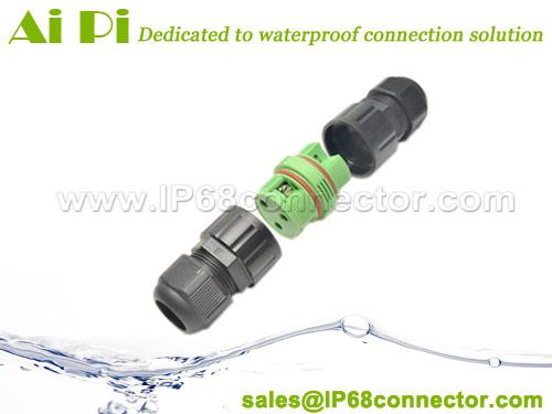 IP68 Waterproof Cable Connector - Screw Type