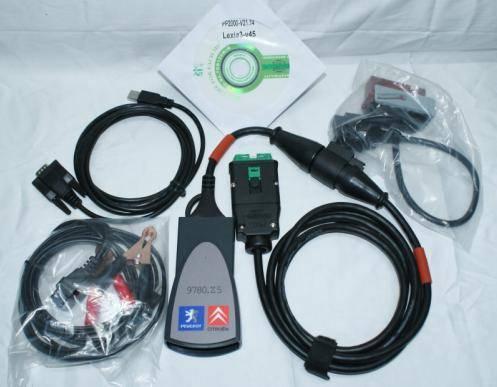 Lexia-3 Citroen diagnostic tool v45