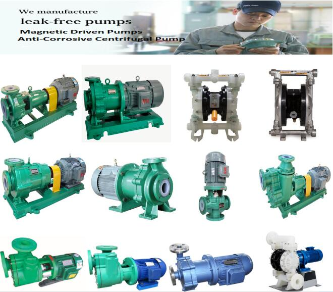 Hot Sell Plastic Anti-corrosive chemical process centrifugal pump