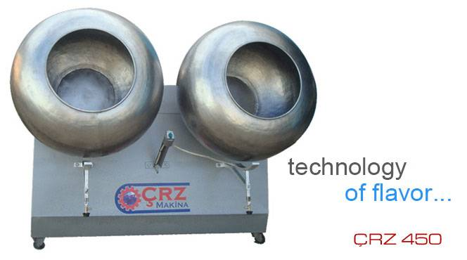 CRZ-450 Drage Coating Machine
