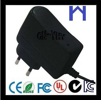 3V 1A 1000mA DC Adapter EU Wall mounted Adapter