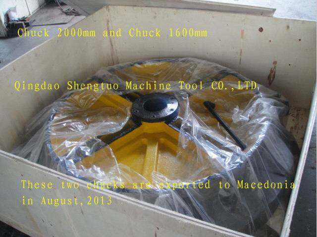 500mm - 3000mm Custom Machining Metal Parts Lathe with 3 - Jaw / 4 -jaw Chuck