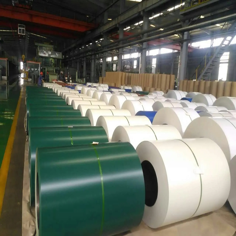 Color Coated Galv PPGI Cold Roll Steel Coil for Africa