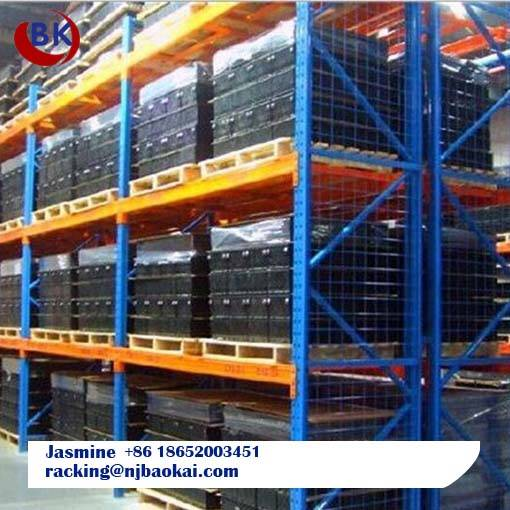 Industrial Warehouse Storage Solutions Metal Heavy Duty Pallet Superlock Storage Racking