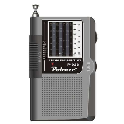9-band high sensitivity radio p-928