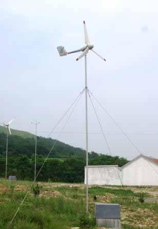500w wind turbine generator off-grid working system