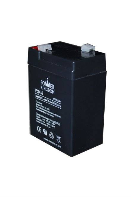 6V4ah lead acid batteries