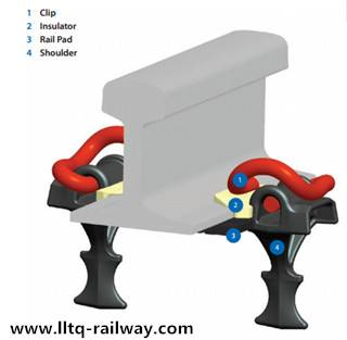 Sell rail clip for railway