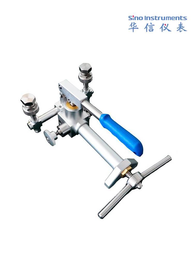 Pneumatic pressure comparison pump